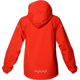 Isbjörn Junior Monsune Hard Shell Jacket Unisex SunPoppy